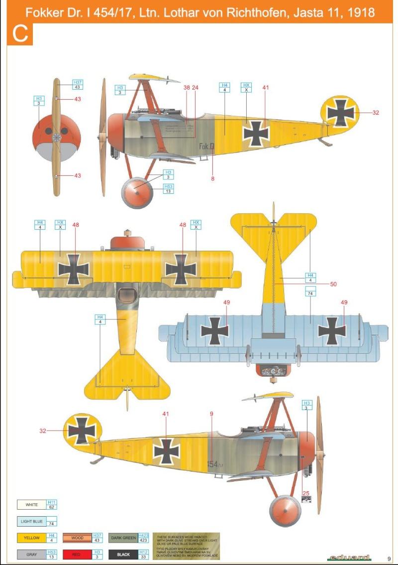 1/72 Revell Fokker DR 1 Lothar10