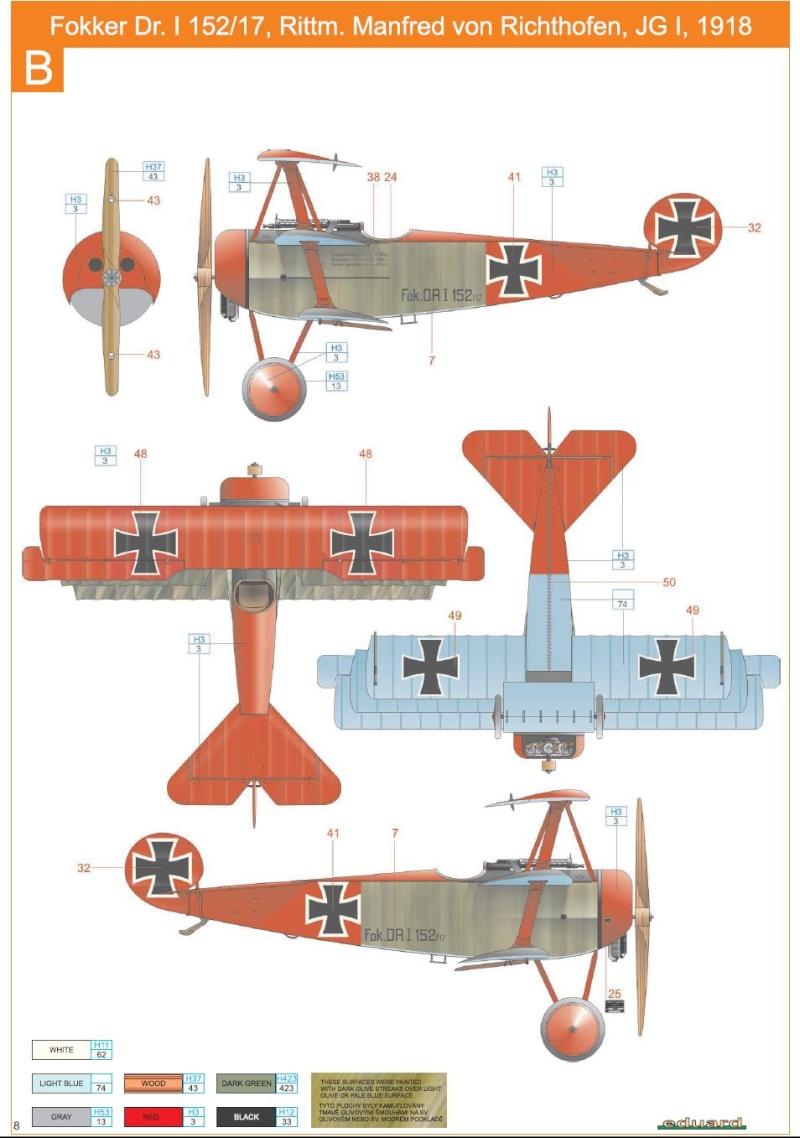 1/72 Revell Fokker DR 1 Richth10