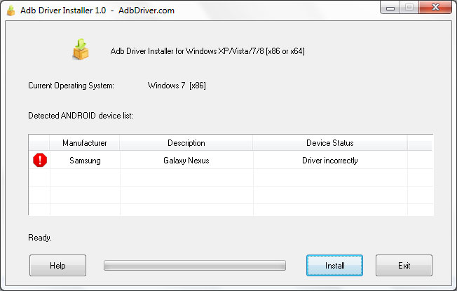 [TUTO] Accès ADB sur HTC ONE - windows 8 Adb-dr10