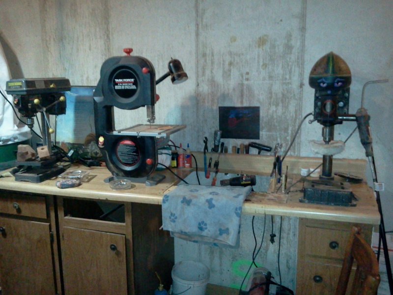 LET'S SEE PICS OF YOUR PIPE WORK BENCH A310