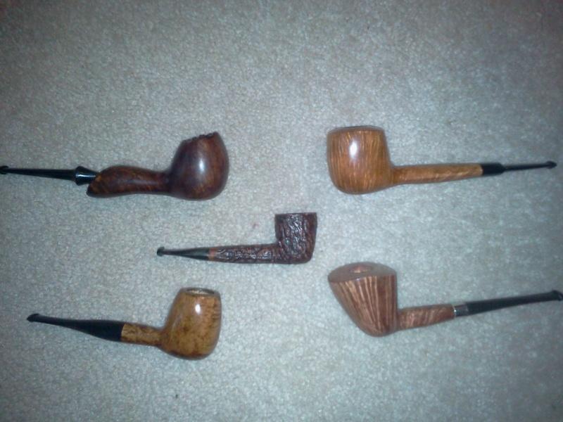 A few pipes I made while home Aq10