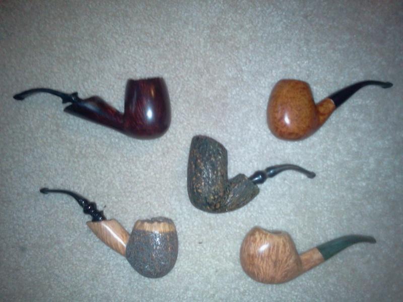 A few pipes I made while home Aq110