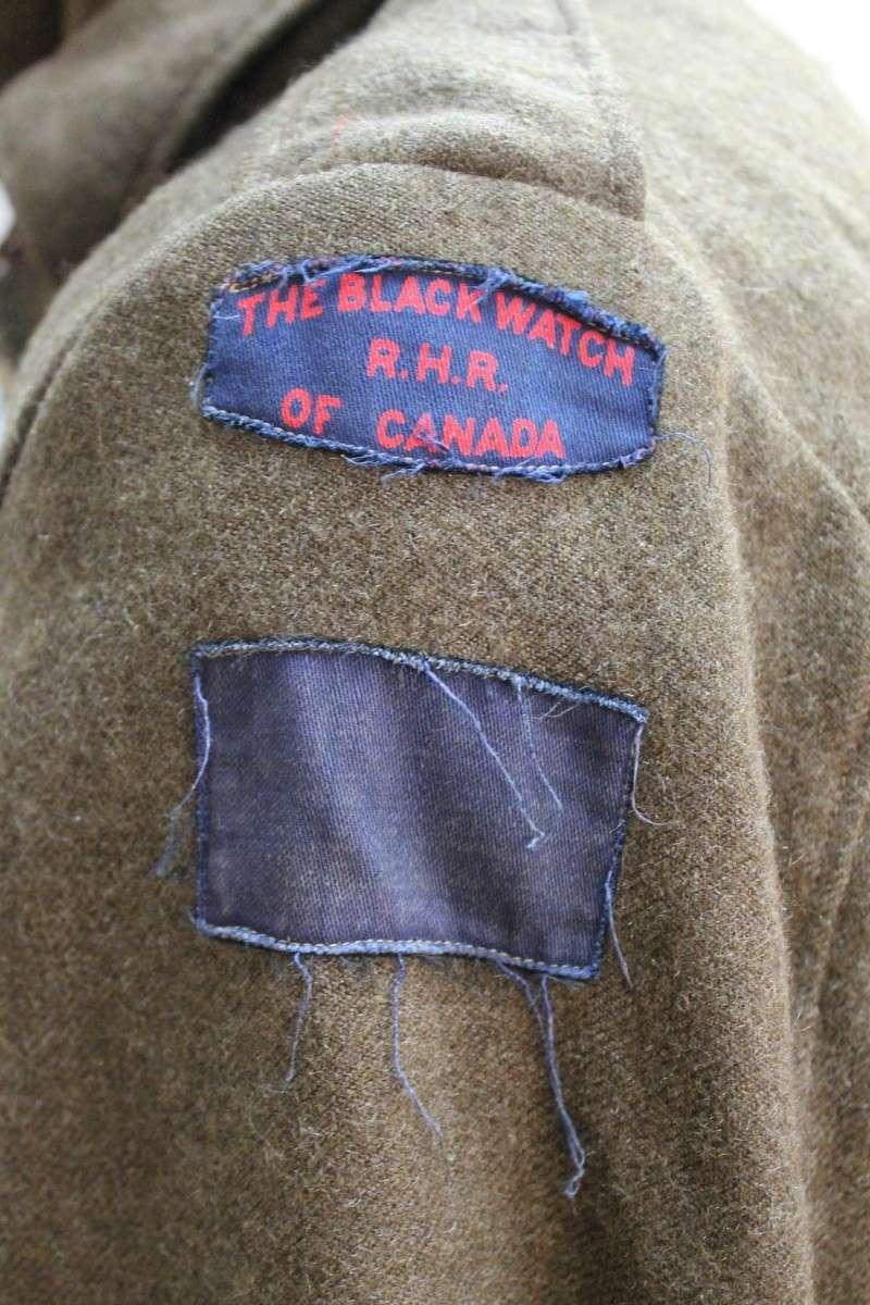 Canadian Black Watch Battle Dress Canadi13