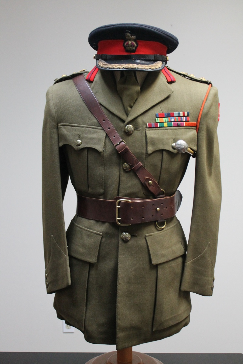 Service Dress Jacket Brigadier -Général Guy Gauvreau Fusiliers Mont-Royal Unifor10