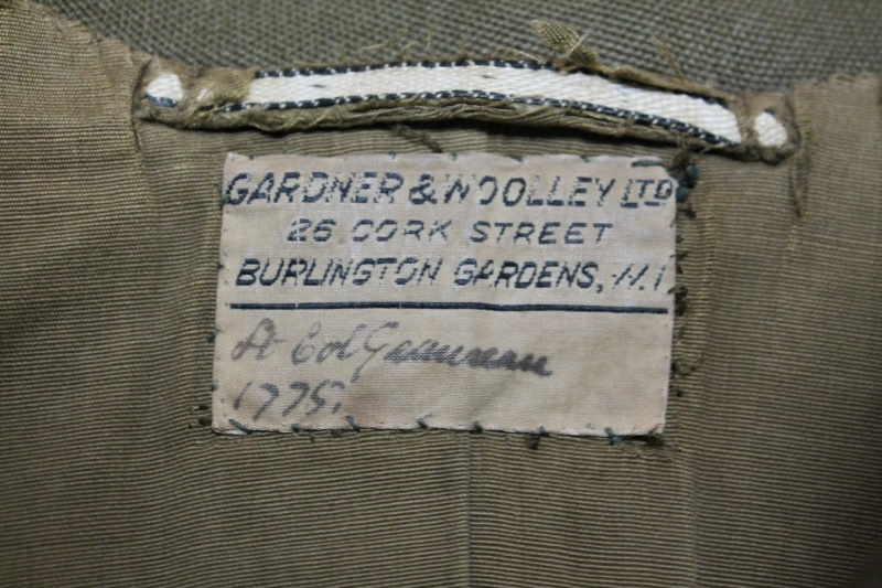 Service Dress Jacket Brigadier -Général Guy Gauvreau Fusiliers Mont-Royal Unifor14