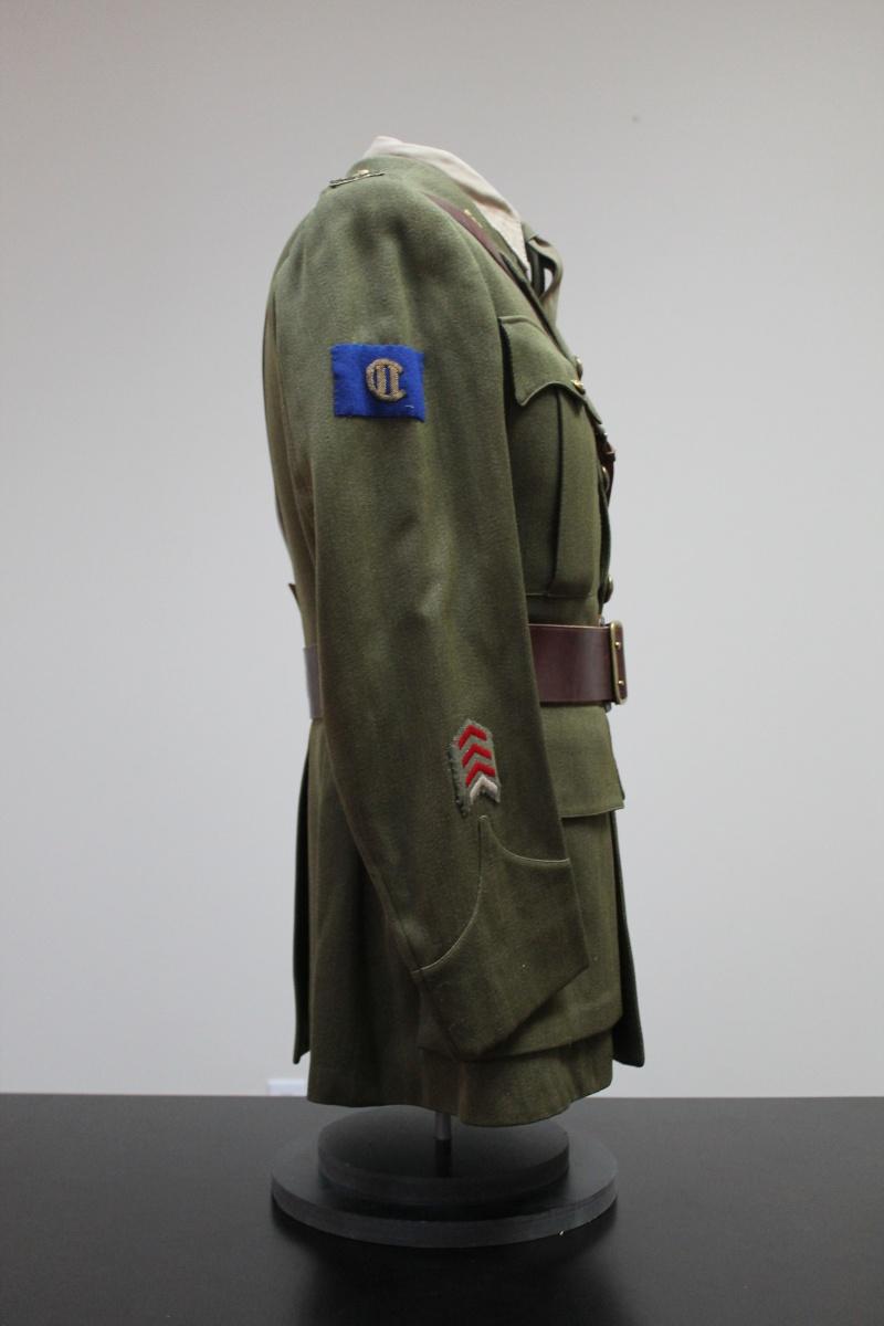 Service Dress Jacket Lieutenant André Raymond Fusiliers Mont-Royal Unifor16