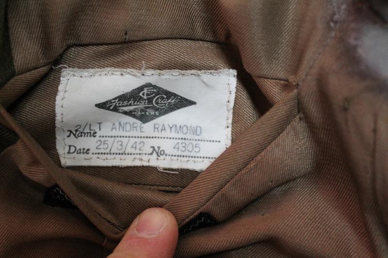 Service Dress Jacket Lieutenant André Raymond Fusiliers Mont-Royal Unifor17