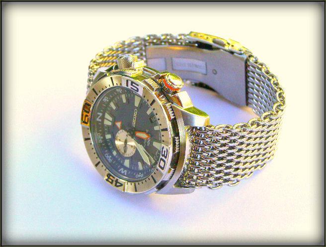 Bracelet mesh de marque Orient pour Mako Mesh_10