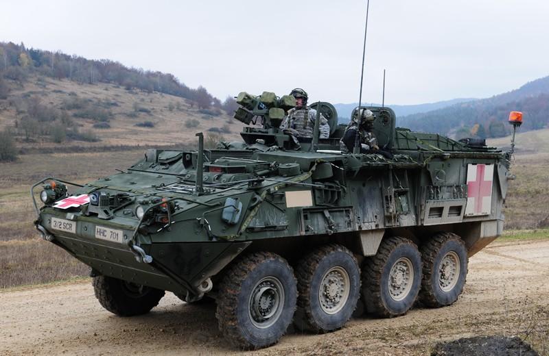 M 1133 Stryker MEV, M 1135 Stryker NBC RV Pic00110