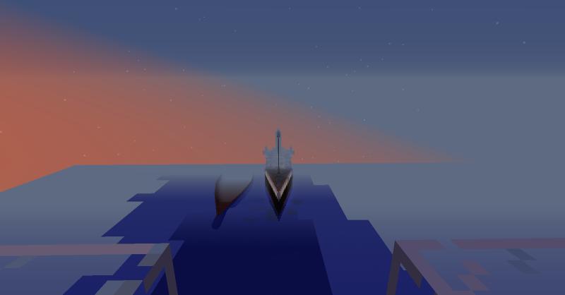 Le titanic sur minecraft ? 2014-010