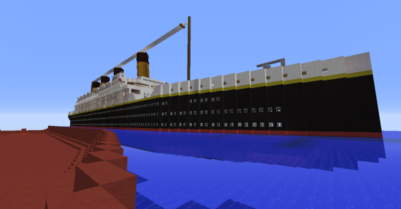 Le titanic sur minecraft ? 2014-011