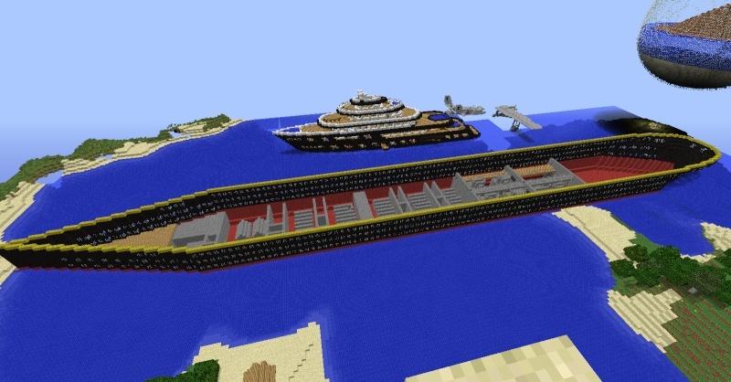 Le titanic sur minecraft ? 2014-012