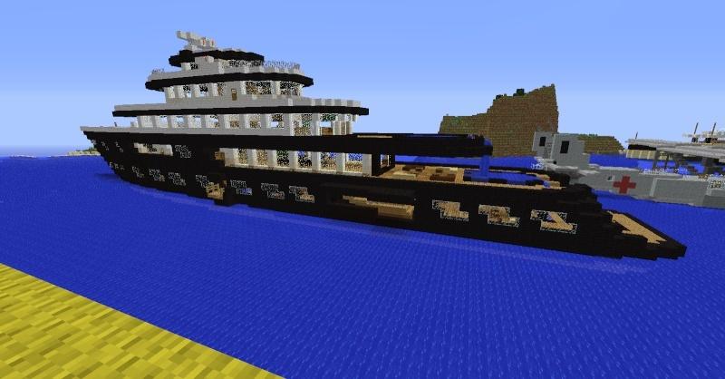Le titanic sur minecraft ? 2014-013
