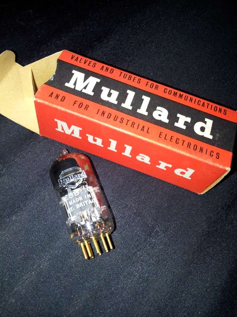 Mullard Mitchum E88CC tube ( nos )-sold 20131021