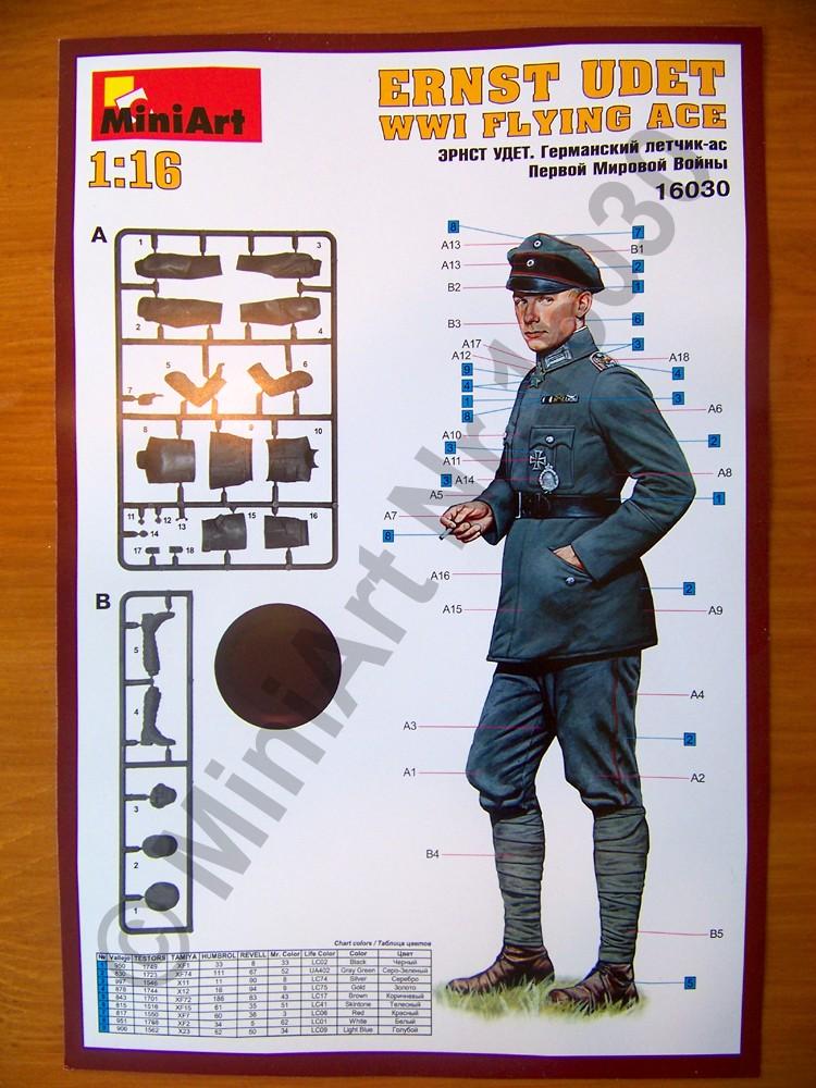 WWI Flying Aces, MiniArt 1:16 Udet_015
