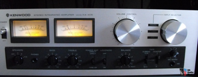 Kenwood KA 405 Amplifier ( SOLD )