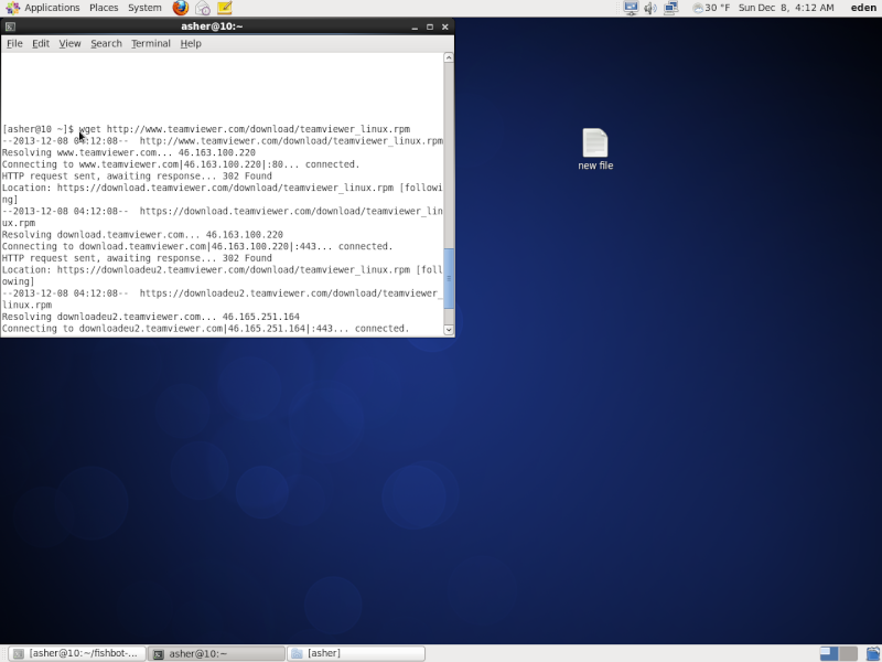 Guide install TeamViewer on Centos 110