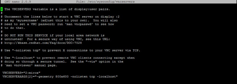 Guide install TightVNC Server on Centos6.4 311