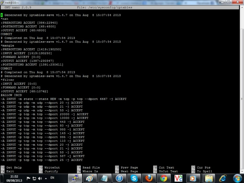 Guide run IRCD from System Centos 414