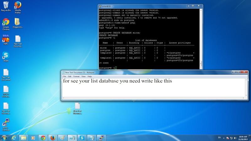 Guide install postgresql on ubuntu 415