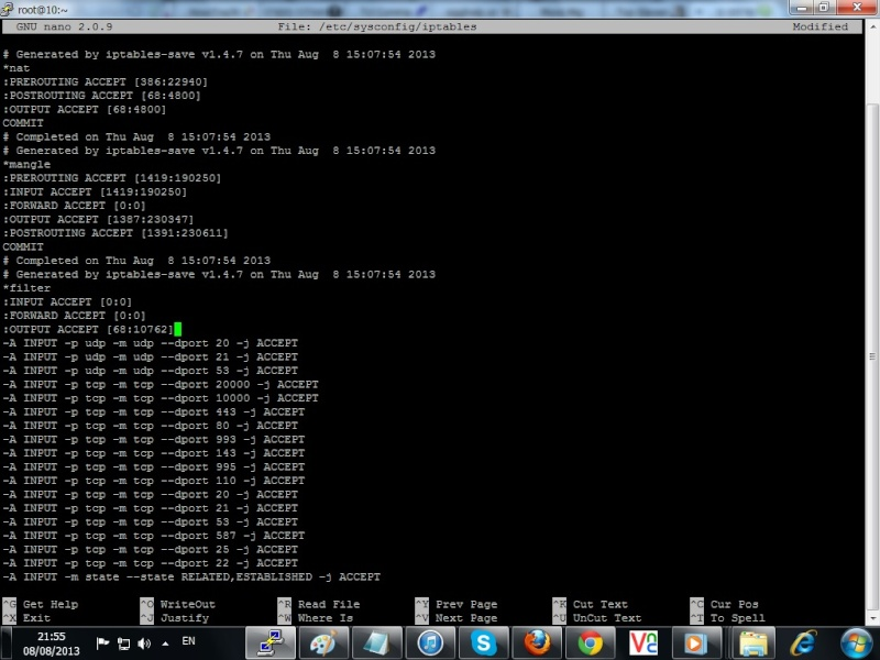 Guide run IRCD from System Centos 513