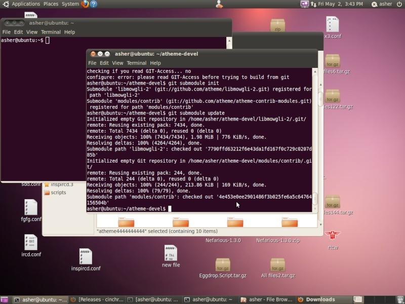 Guide install atheme-devel Screen21