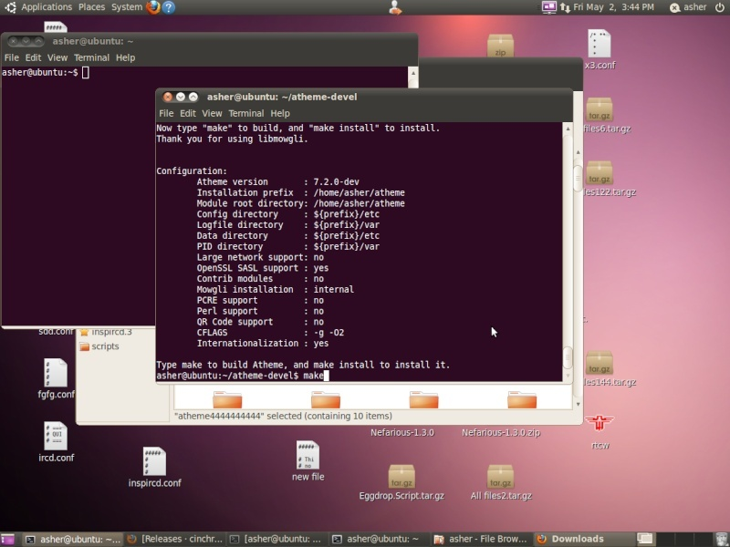 Guide install atheme-devel Screen22