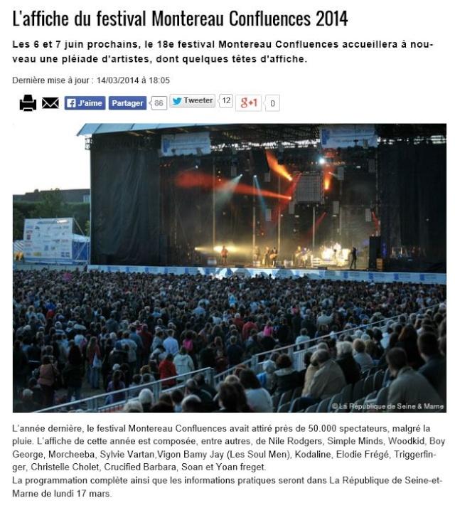 Elodie Frégé au Festival Montereau Confluences (07 juin 2014) 14140310