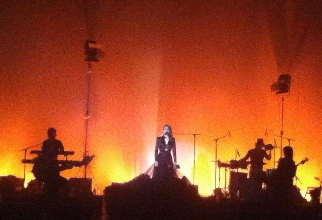 Elodie Frégé en concert à La Cigale (05 mars 2014) 142
