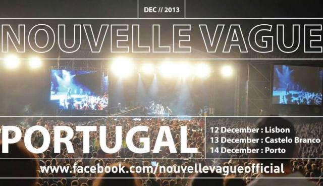 """Concert """"Nouvelle Vague"""" à Castelo Branco au Portugal (13 déc 2013) 14255410"""
