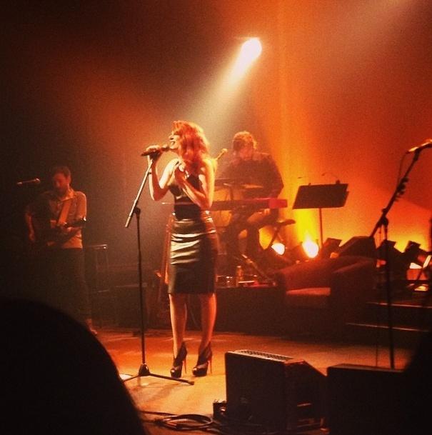 Elodie Frégé en concert à La Cigale (05 mars 2014) 143