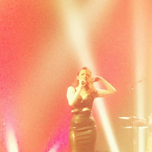 Elodie Frégé en concert à La Cigale (05 mars 2014) 224