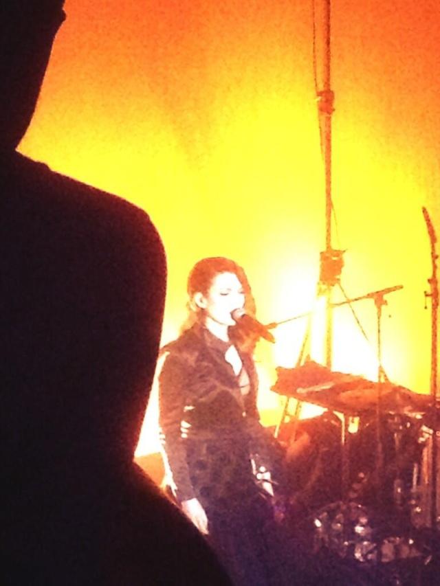 Elodie Frégé en concert à La Cigale (05 mars 2014) 324