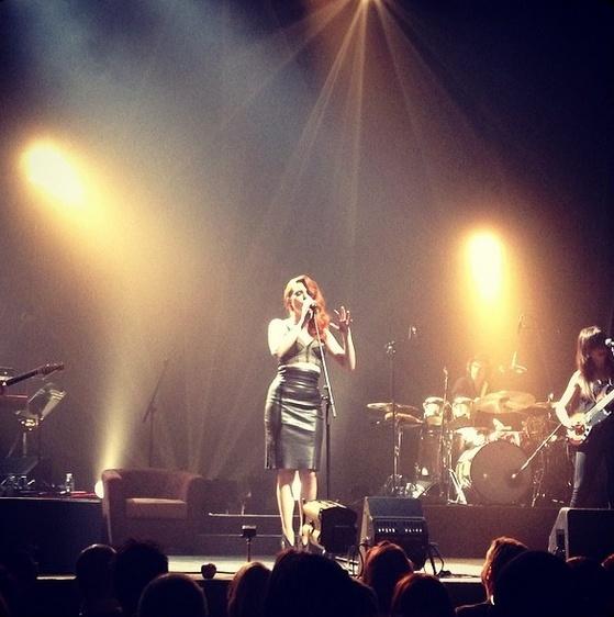Elodie Frégé en concert à La Cigale (05 mars 2014) 416