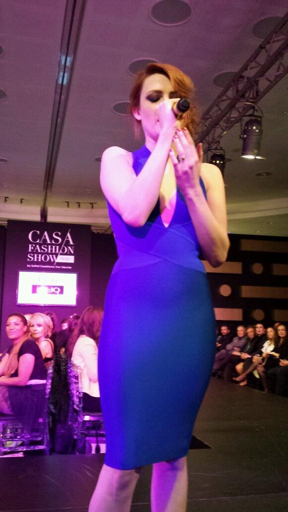 Elodie Frégé au Casa Fashion Show à Casablanca (12 avril 2014) 719
