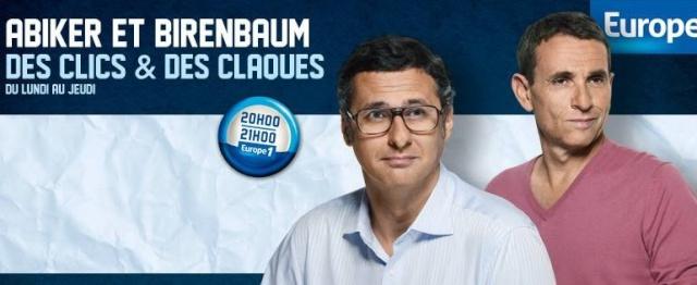 """""""Des clics et des claques"""" sur Europe 1 (03 décembre 2013) Des-cl10"""