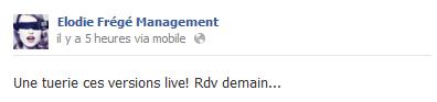 Messages d'Elodie Frégé Management sur Facebook - Page 23 Elo34