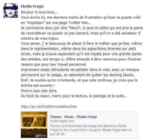 Messages d'Elodie Frégé sur Facebook (de Août 2013 à Avril 2014) Elo5310
