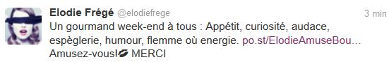 Messages d'Elodie Frégé sur Facebook (de Août 2013 à Avril 2014) Elo57