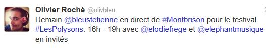 Elodie sur France bleu Saint-Etienne (23 janvier 2014 de 16 à 19h) Elo67