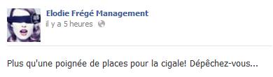 Messages d'Elodie Frégé Management sur Facebook - Page 23 Elo78