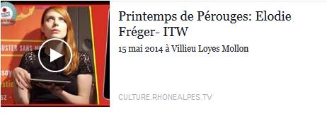 Printemps de Pérouges - Questions Ipad d'Elodie Frégé (15 mai 2014) Elo99