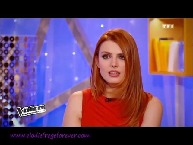 Elodie co-coach de Jenifer dans The Voice (dés le 22 février 2014) Vlcsna43