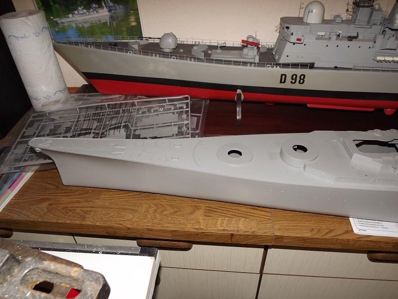 BB - 63 USS Missouri von Trumpeter in 1/200 K-dsc149