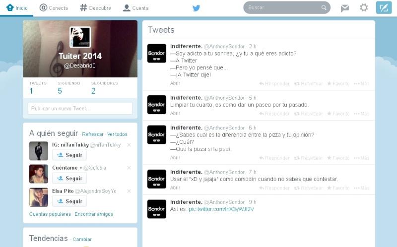 Actualización de Twitter para la web 2014 Actual11