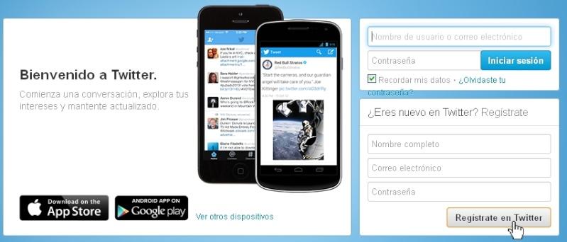 Como crear tu Twitter Regist10