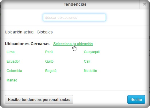 Resuelto: ¿Como cambiar las Tendencias Globales en Twitter? Twitte10