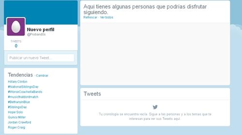 Actualización de Twitter en el perfil 2014 Twitte20