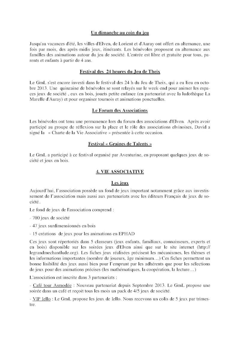 Compte-rendu Assemblée générale ordinaire du 15 Décembre 2013 Compte16