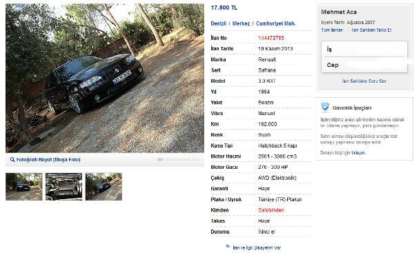 [VENTE] RXE, 94, noire, 262.000 Km, 6000 € Turquie Vente_25
